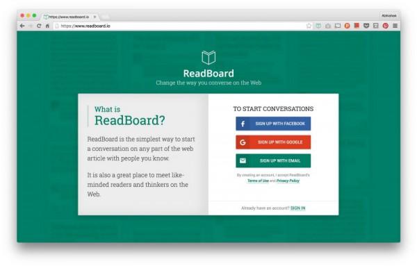 Launch Readboard