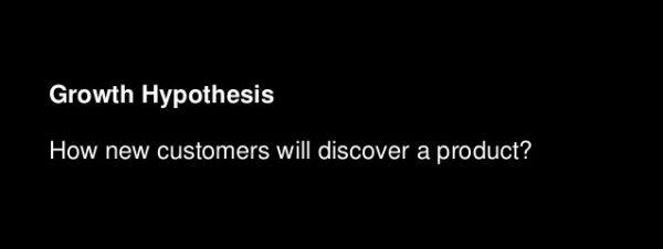 Growth Hypothesis - Leap of Faith assumptions - Digicorp