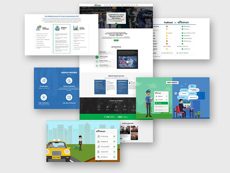 BetterPlace Website - Website Development - Digicorp